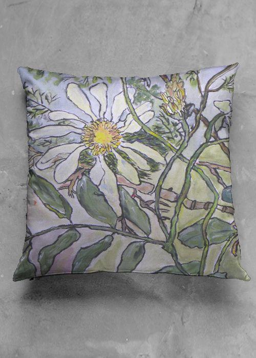 Cashmere Silk Scarf - Blissful Flowers (CS) by VIDA VIDA 2ch48pLwhS