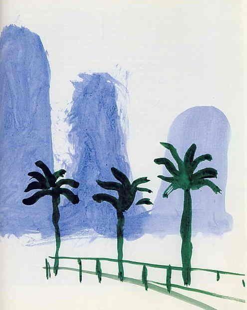 David Hockney | Sketch from China Diary, 1982