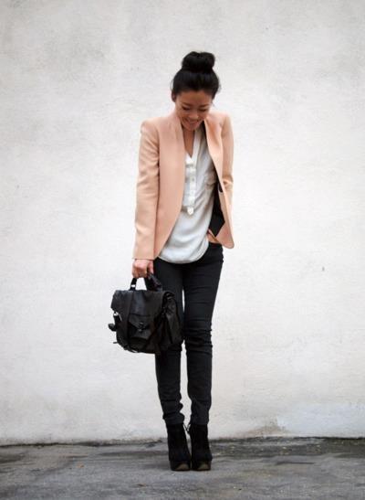 Love This Blush Blazer Passion For Fashion Pinterest