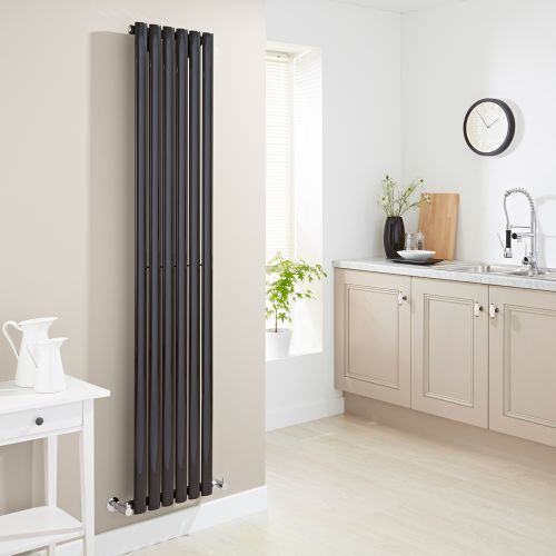 Update your kitchen or any room in your home with the Milano Aruba vertical designer radiator