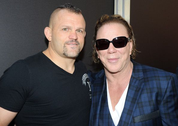 ~Mickey Rourke and Chuck Liddell~