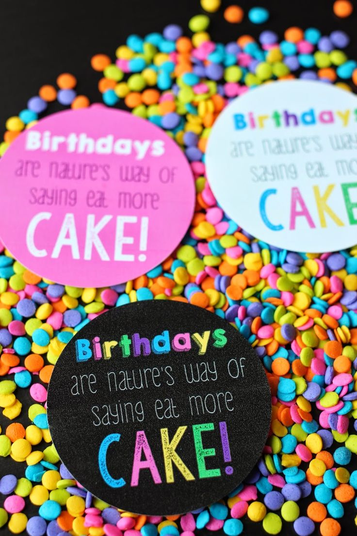 Play. Party. Pin.: 101 Inexpensive Birthday Gift Ideas and Eat More Cake Birthday Printable