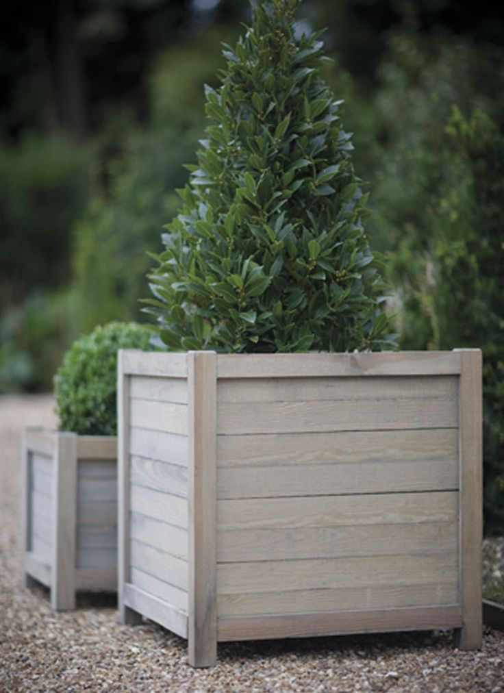 Large Planters For Sale Part - 43: Handcrafted From Contemporary Slatted Panels Of Spruce, Our Large Wooden  Planter Is Ideal For The