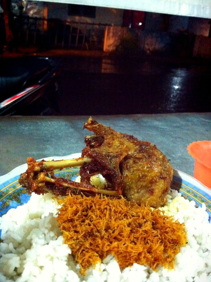 Nasi Bebek Goreng Surabaya
