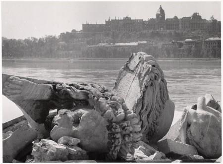 Budapest, 1945. Sad scene.