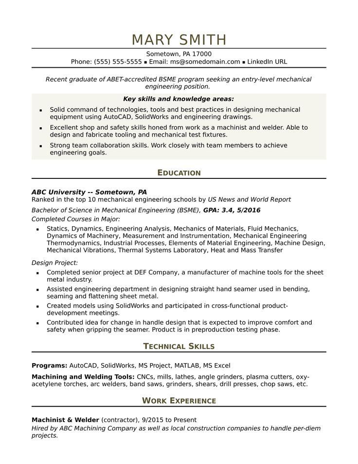 32++ Professional engineer resume sample Examples