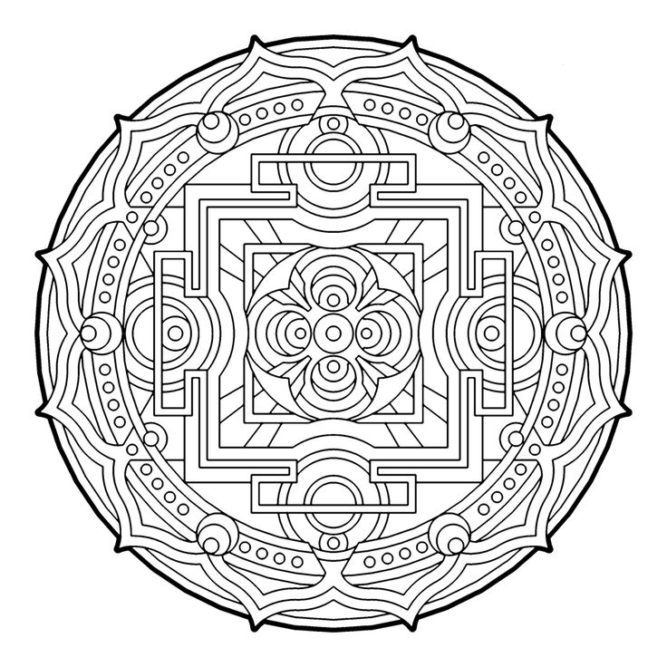 the color book coloring page art therapy coloring pages color - Art Therapy Coloring Pages Mandala