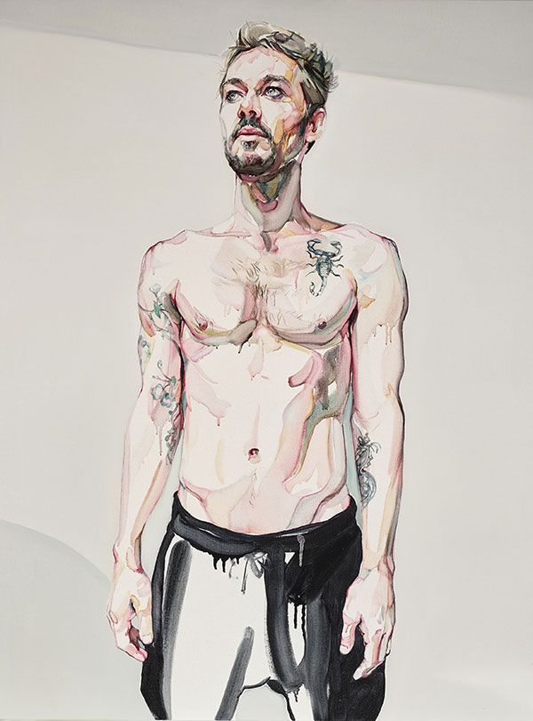Here's my favourite finalist in the Archibald Prize: Daniel Johns by Julian Meagher. Vote for your favourite.