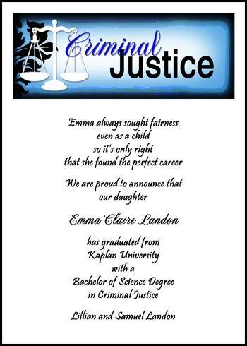 Law Enforcement Graduation and Legal Assistant Graduate at http://www.cardsshoppe.com/law-enforcement-criminal-justice-paralegal-legal-assistant-graduation.htm