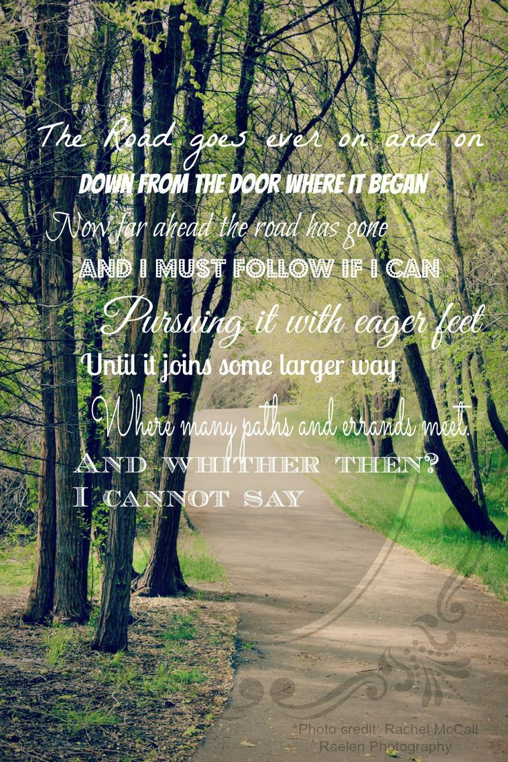 The Road Goes Ever On and On: Bilbo Baggins quote #lotr #fotr #bilbo #theroad...