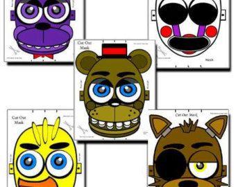Mask Phantom Mangle Five Nights at Freddy's FNAF by RockitfishRay
