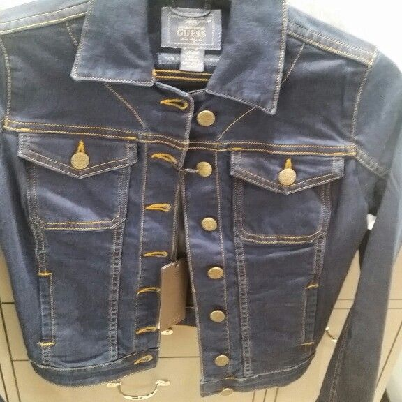 Always been looking for investment piece for her. Found this amazing Guess jacket for R300. She is over the moon.