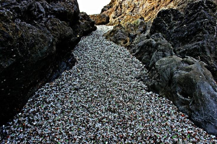 Glass Beach, CA Sea Glass