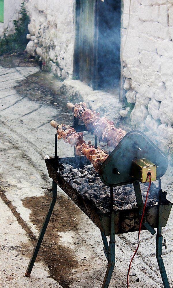 Souvla_Traditional Easter food, Cyprus