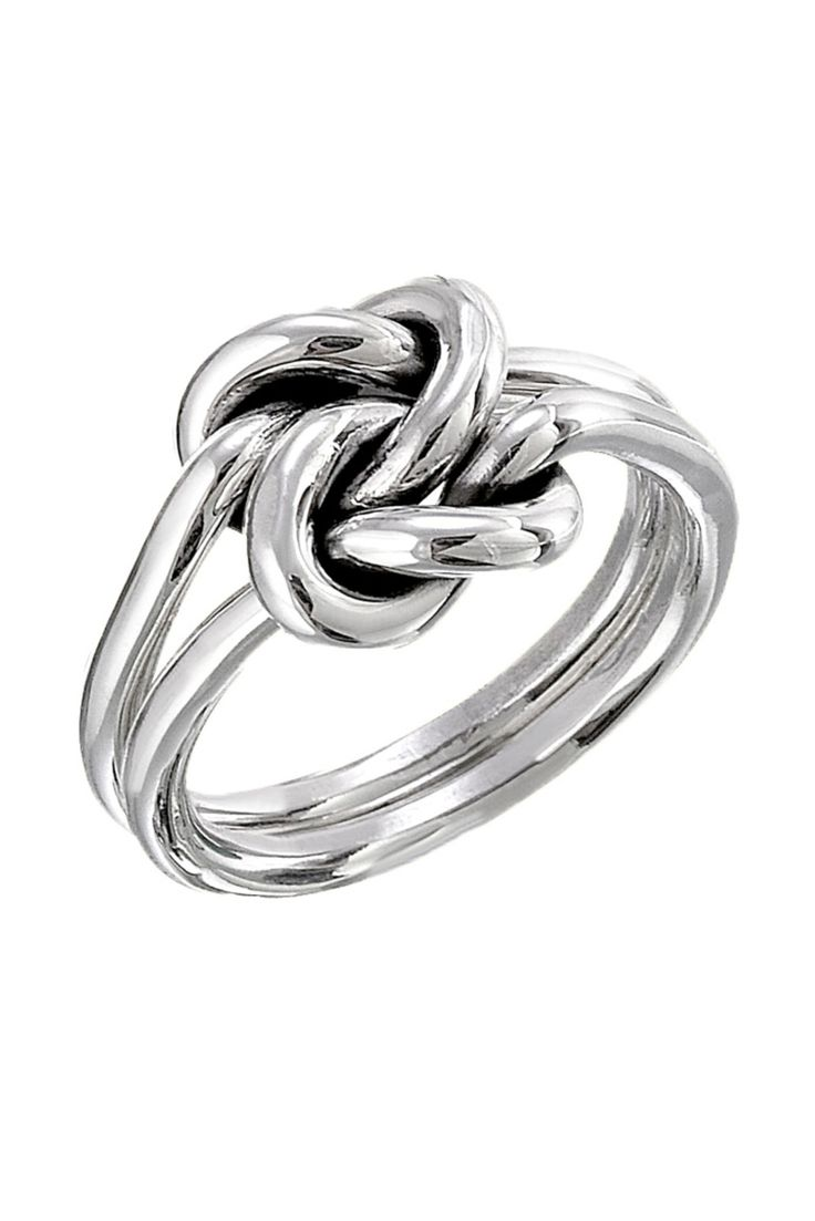 Shoptiques — Silver Double Knot Ring