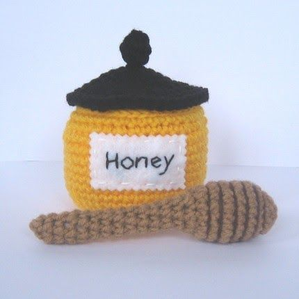 This honey pot was originally requested by a customer. I liked the way that it came out so I decided to share the pattern. Enjoy! Materia...