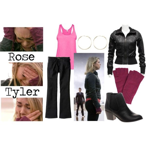 [DOCTOR WHO] Rose Tyler / Billie Piper outfits, created by companionclothes on Polyvore