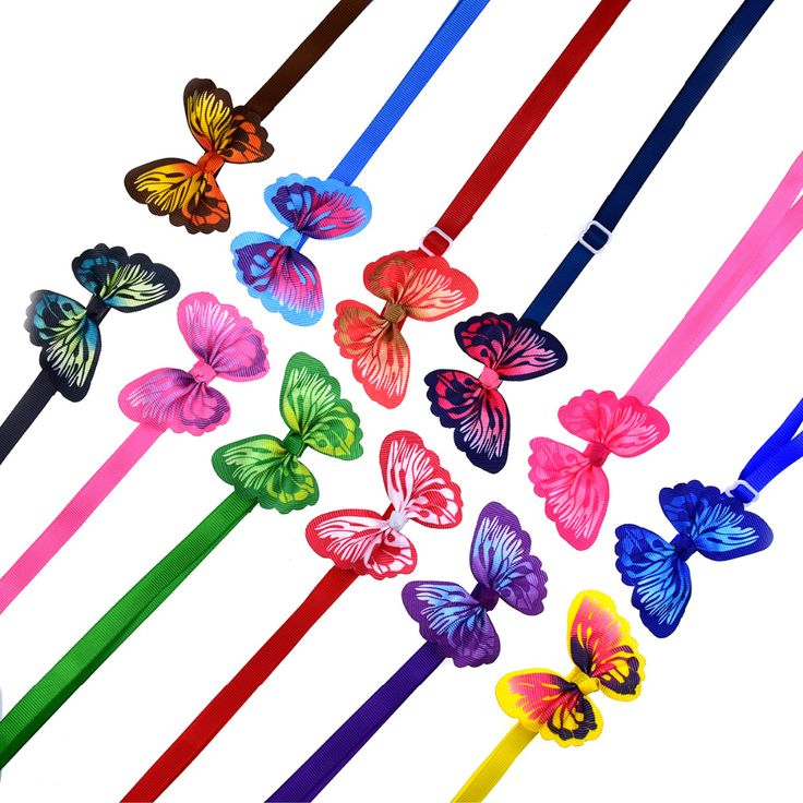 "Butterfly+Pet+Collars    Price:+$6+CAD    Adjustable+Neck+Size:+9.5-15""+(24cm-38cm)  Butterfly:+6cm+x+5cm+approx.    Materials:+Grosgrain+Ribbon,+Plastic+Clip+Closure  Light+weight+&+comfortable!    ✿+Collars+are+for+fashion+purposes+only.+Please+supervise+your+pet+when+wearing+any+accessories+✿"