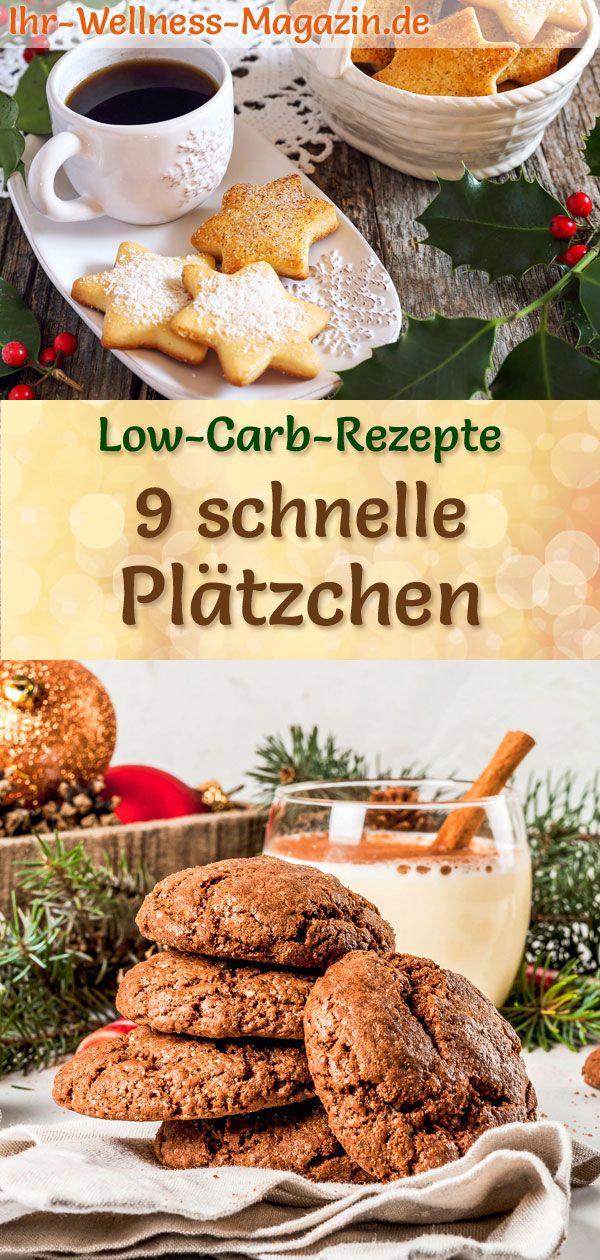 Schnelle Weihnachtskekse.9 Schnelle Plätzchen Rezepte Low Carb Einfach Und Ohne Zucker