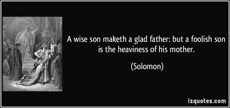 the wisdom of solomon essay King solomon continues his teachings of wisdom in the book of ecclesiastes, which is considered one of the most depressing books of the bible.