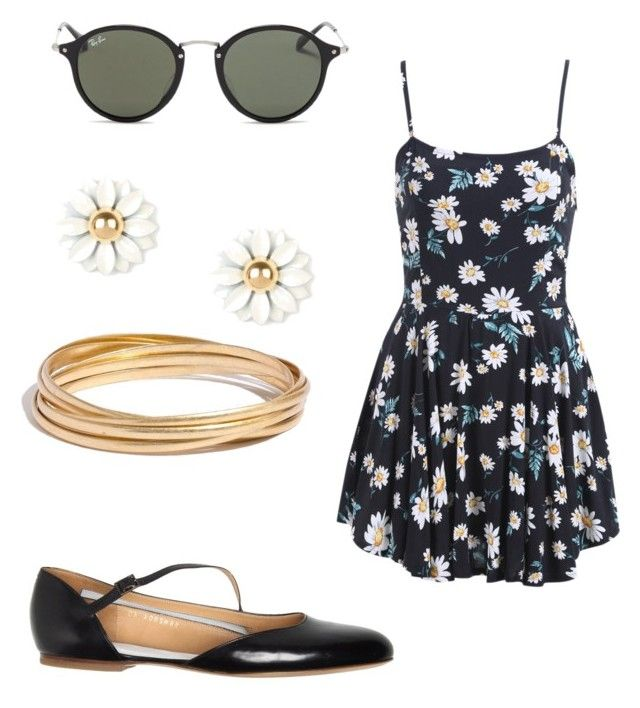 summer/spring by tayken3 on Polyvore featuring polyvore fashion style Maison Margiela Madewell Ray-Ban clothing