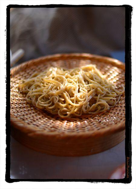 深大寺 湧水 鴨鍋 蕎麦  kurosuke ishigaki