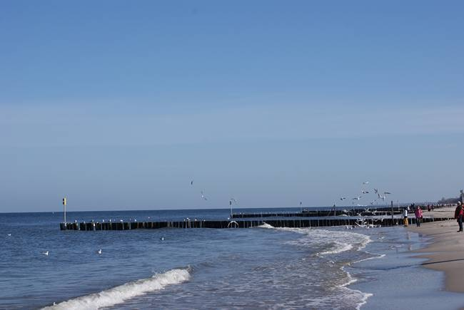kołobrzeska plaża