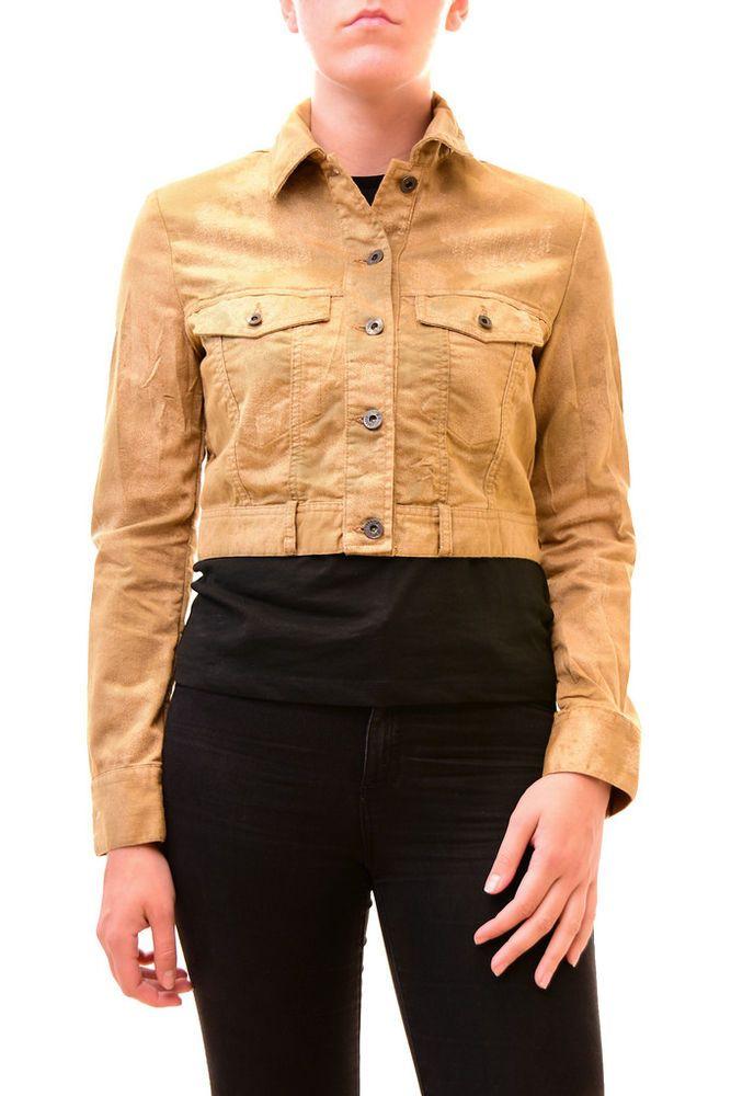 0ec1b653e6405 Diesel Women s Unique G-Ruine Long Sleeve Jacket Brown Size S RRP 240 BCF79   fashion  clothing  shoes  accessories  womensclothing  coatsjacketsvests  (ebay ...