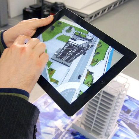 """Augmented reality devices """"in your eye"""" will change how we see the world Dezeen and MINI Frontiers: augmented reality technology will revolutionise the way we navigate cities, says Andy Millns of 3D production company Inition."""