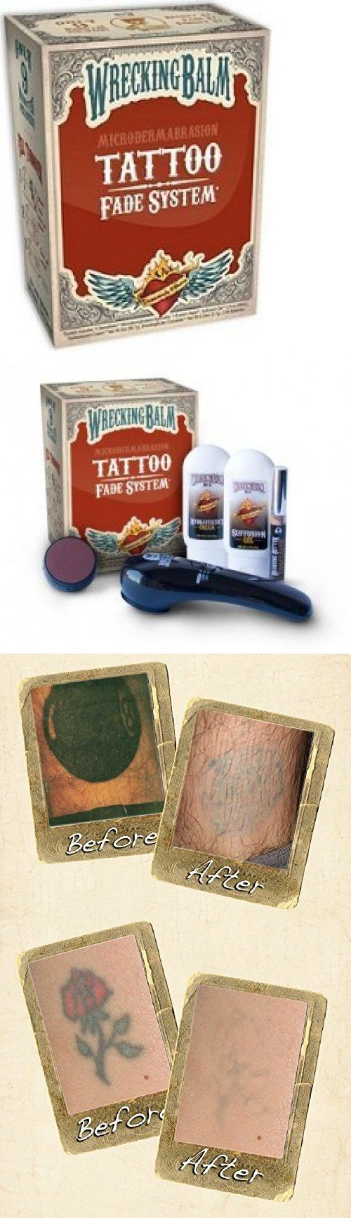 Tattoo Removal Machines: Wrecking Balm Tattoo Fade System BUY IT NOW ONLY: $35.71