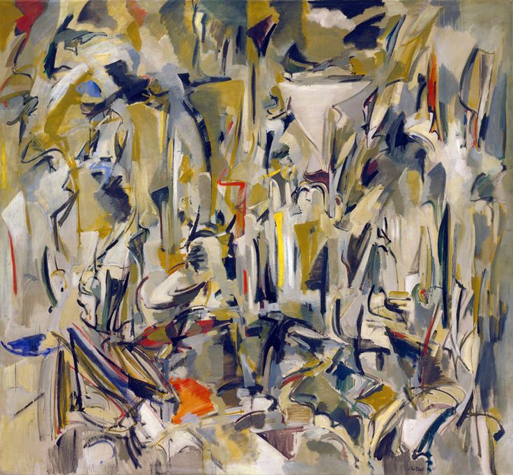 Joan Mitchell - Untitled, 1951, oil on canvas