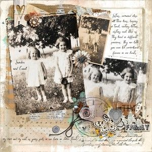 Family by Rae at The Lilypad using digital scrapbooking products from The Lilypad