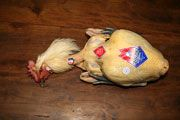 Le poulet de bresse du Domaine de la Pérouse, Recette