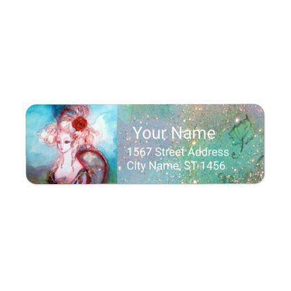 #elegant - #MADAME POMPADOUR Pink Teal Blue Label