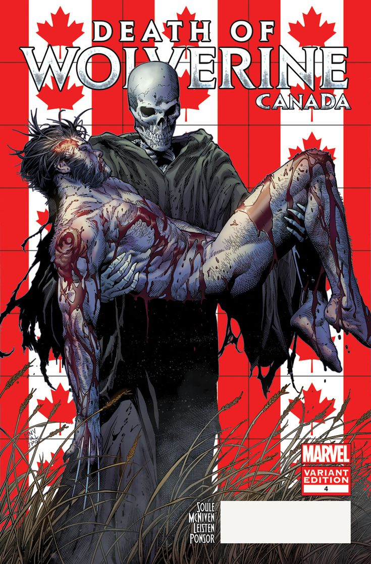 Marvel Comics Exclusive: The Death of Wolverine Canada Variants | Comicbook.com   http://ebay.to/1MkkL4b