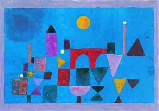 Beautiful, original hand-painted Red Bridge in your home, painting based on the master's works of Paul Klee. Description from paintinghere.org. I searched for this on bing.com/images