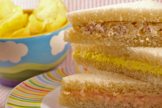 Sandwiches rodilla caseros