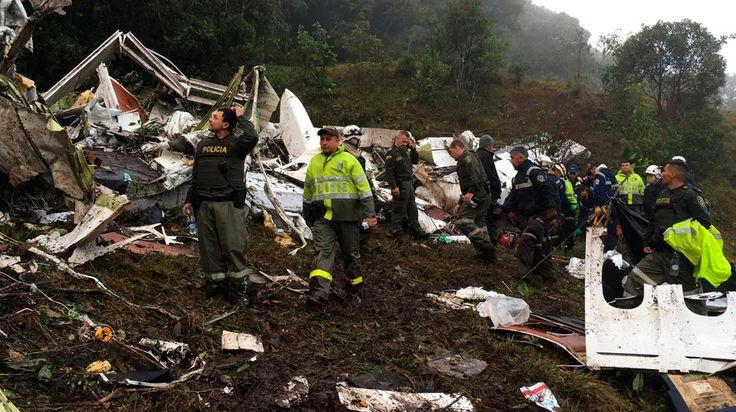Oficial: al menos 76 personas murieron en el accidente de Chapecoense