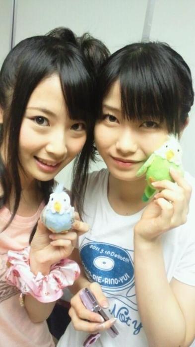 Yuihan with SKE48 member #AKB48