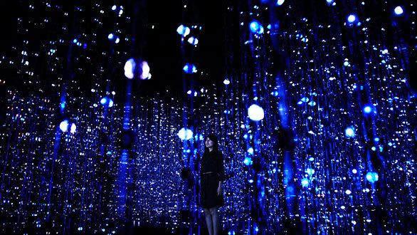マリーナベイ・サンズ内にあるアート施設「アートサイエンス・ミュージアム」に、日本でも大人気のデジタルアート集団「チームラボ」の常設展示「FUTURE WORLD: WHERE ART MEETS SCIENCE」が誕生しました。