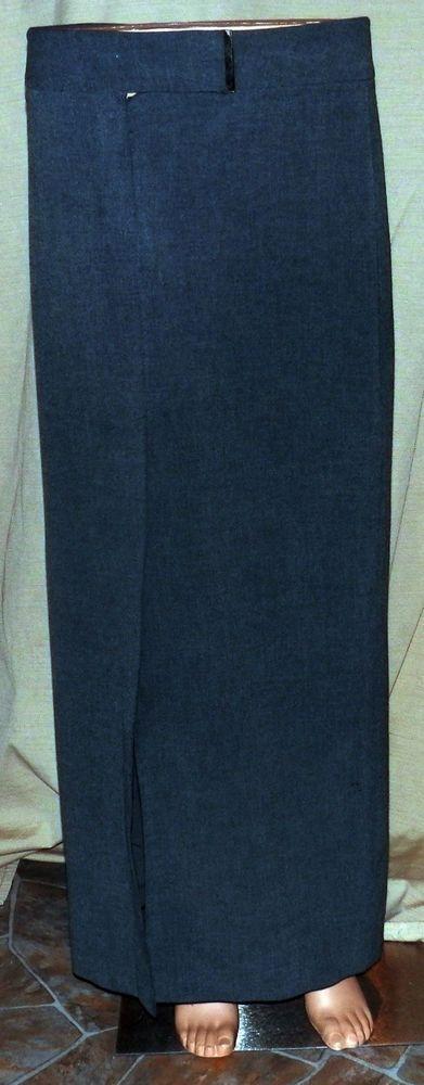 EXPRESS Women's Size 7/8 Gray editor lined  Stretch Elegant Dressy Skirt!! #express #dressy