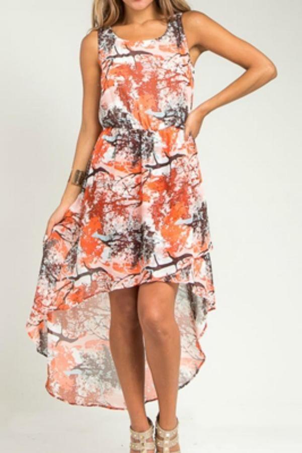 Hem & Thread Hi-Lo Summer Dress