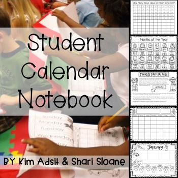 REFRESHED FOR 2015!!!RNOW INCLUDES month pages for June and August.  An all inclusive calendar book that includes not only the recording pages to make the Student Calendar Books, but also the directions, questions, and additional activities for each page.