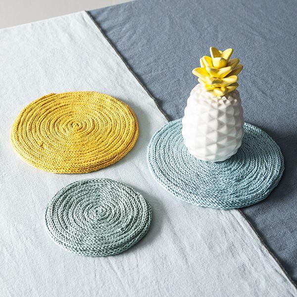 Mes supports en tricotin DIY - Idées déco