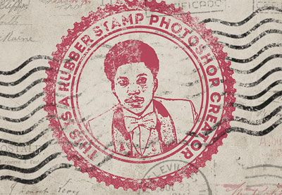 How to Create a Rubber Stamp Effect in Adobe Photoshop  -  https://themekeeper.com/graphic-design/how-to-create-a-rubber-stamp-effect-in-adobe-photoshop