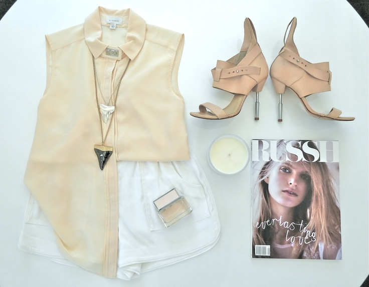STYLE SESSIONS: GIVENCHY INSPIRED details on the blog www.mammatuppy.com #ootd #wiwt #fashion #style #stylesession #givenchy #sharkstooth #necklace #witchery #zimmermann #heels