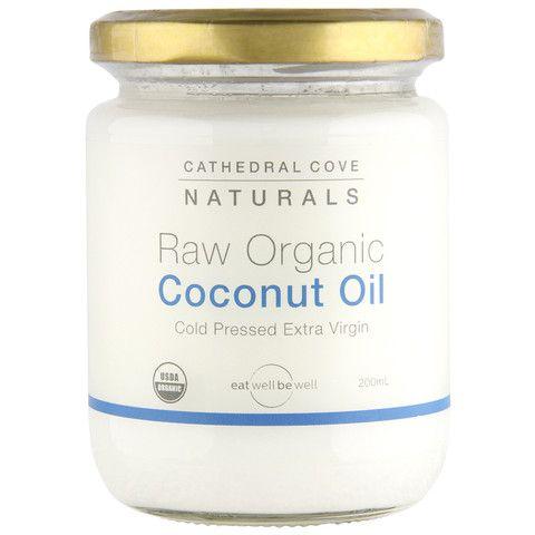 Raw Organic Coconut Oil 200mL
