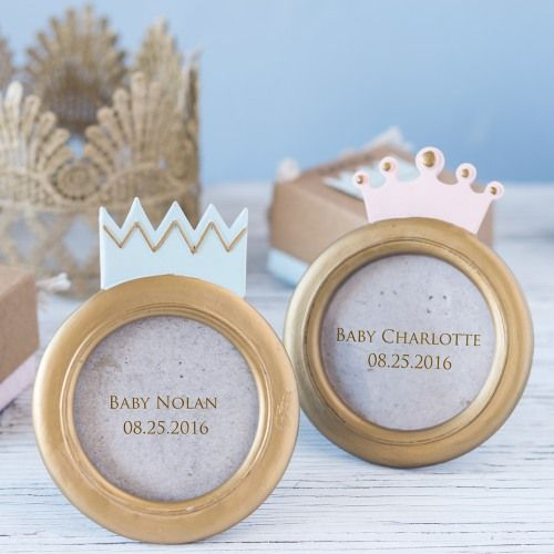 Our Little Prince or Princess photo frame is one baby shower favor fit for royalty!