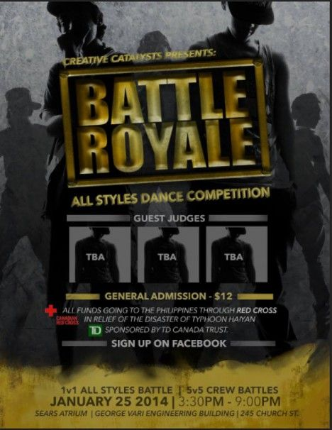 BATTLE ROYALE - TorontoDance.com