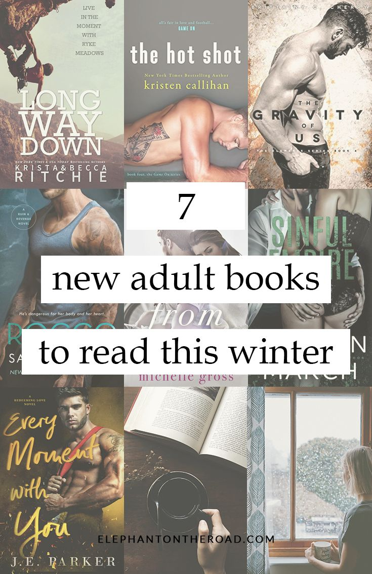 7 New Adult Books To Read This Winter. Romance Books. Elephant on the Road.